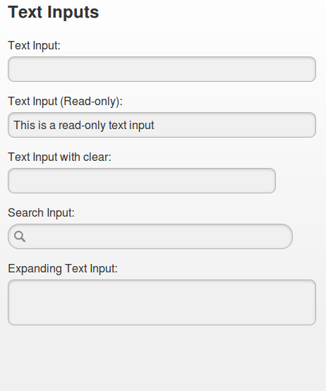 HTML5 Text Fields | AT&T Developer