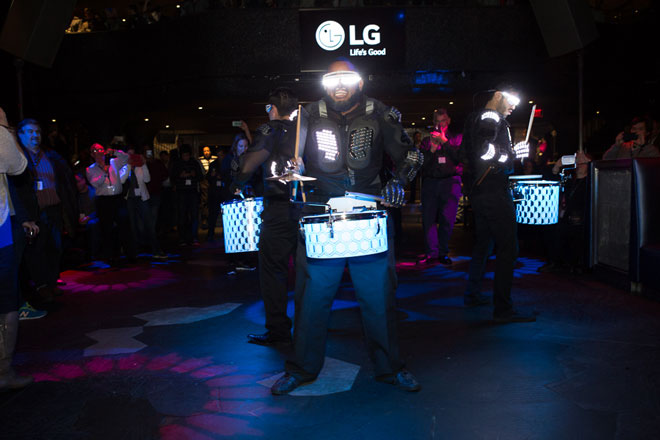 LG party drummers