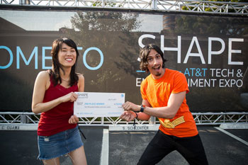 TimeShow - 2nd place winners of SHAPE Hackathon