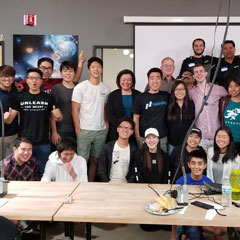 July 2018 Bay Area AT&T Hackathon participants photo