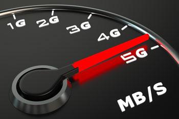 5G speedometer photo