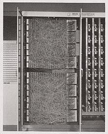 photo of Rosenblatt's Mark I Perceptron Machine