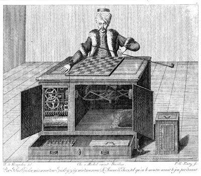 mechanical Turk illustration